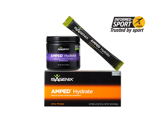 Isagenix amped hydrate