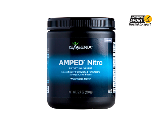 Isagenix amped nitro